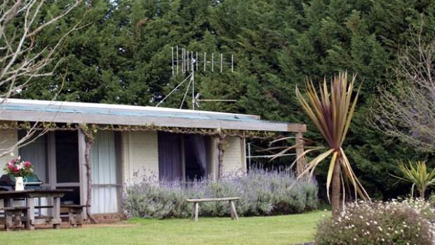 Country getaway ... The Cattleman's guest house is a short distance from the main homestead.