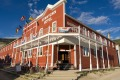 The Downtown Hotel, Dawson City, looks normal enough on the outside.