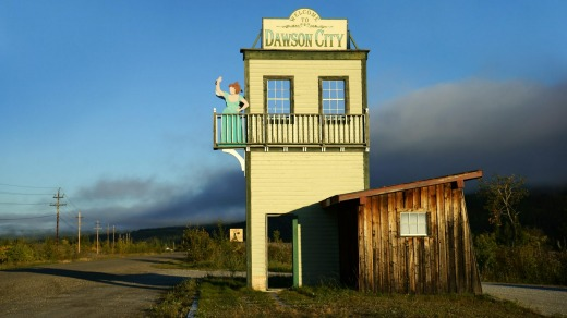Welcome to the former gold rush town that is now Dawson City, Yukon Territory, Canada.