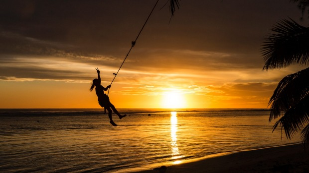 With sunsets like these it's a good thing Rarotonga has the South Pacifi's best sunset bars.