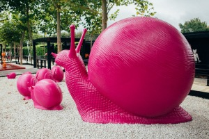 The Sculptureum collection ranges from Rodin bronzes to giant pink snails.