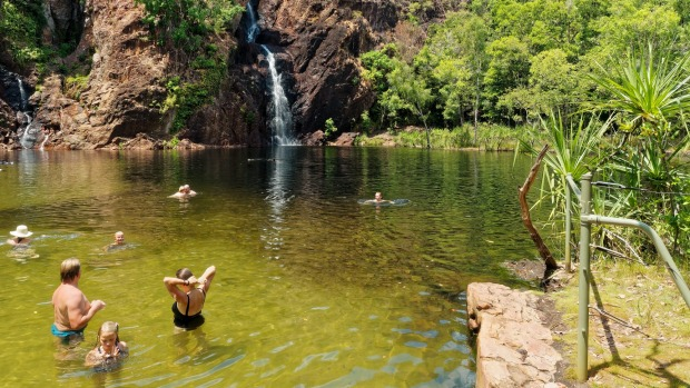 Wangi Falls, Litchfield National Park. Australia's Top End has been named among the top places to visit in 2018 by ...