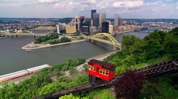 Duquesne Incline on Mount Washington, Pittsburgh.