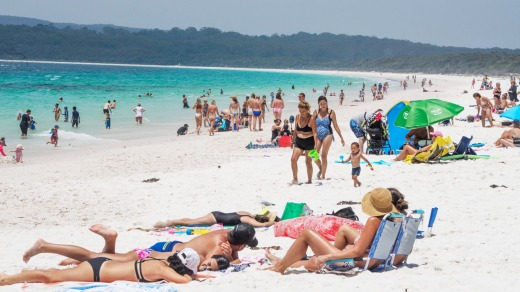 Hyams Beach has been touted as having the world's whitest sand for decades.