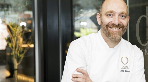 Lino Sauro, executive chef and co-owner of Olio Kensington Street, Chippendale, Sydney.