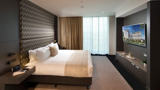The Presidental Suite, Pullman Brisbane Airport.