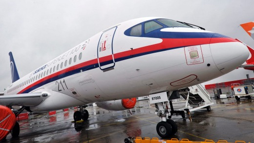 The Sukhoi Superjet 100 was an attempt by Russia to re-start its commercial aviation industry.
