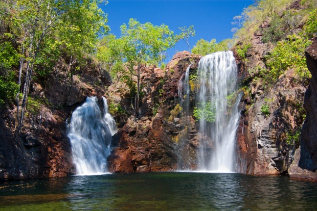 FLORENCE FALLS- This double waterfall wins the trifecta – easy access, spectacular monsoon forest and a crystal clear ...