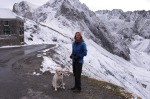 """Deb Holst house-sitting in the French Pyrenees: """"We just love it,"""" says partner Peter Holst. """"We're currently in the ..."""