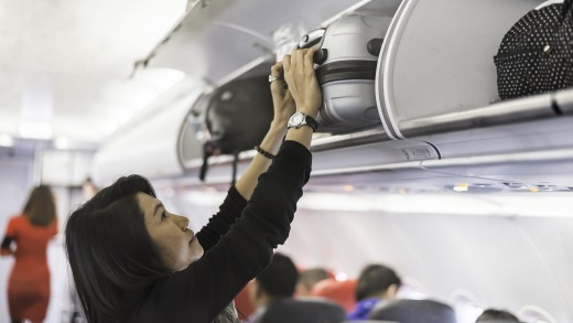 Qantas will start enforcing its cabin baggage limits on domestic flights.