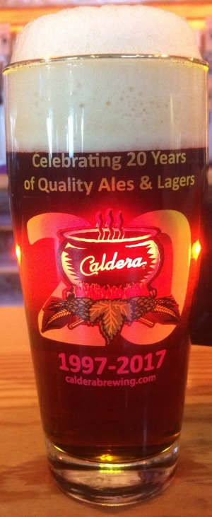 Caldera first opened in 1997 and became the first craft brewery on the West Coast to brew and can its own beer.