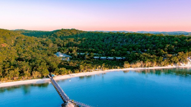 Kingfisher Bay Resort Fraser Island.