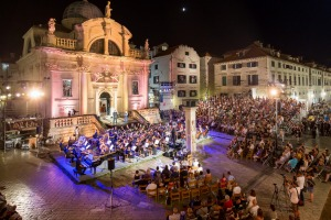 Dubrovnik's baroque architecture provides dramatic venues for its Summer Festival events.