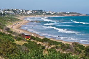 Watch out for the Cockle Train at Port Elliot on Fleurieu Peninsula's Encounter Walk.