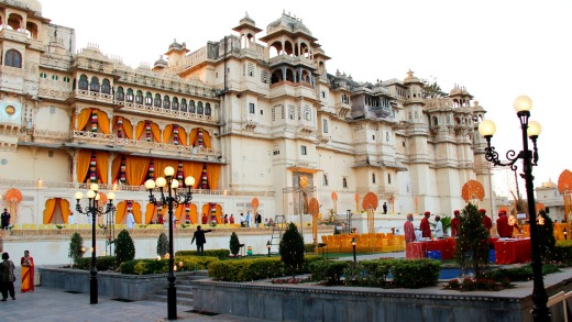 Udaipur Palace of Mewar, Udaipur, Rajasthan, India.
