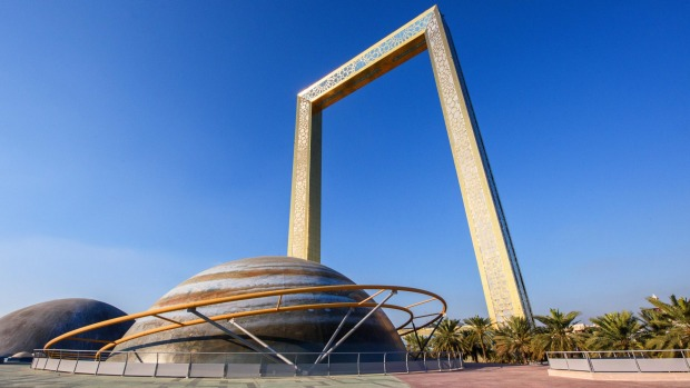 The Dubai Frame What It S Like Inside The World S Largest