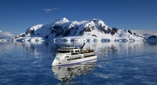 Greg Mortimer: revolutionary X-Bow makes travelling through Arctic waves much easier