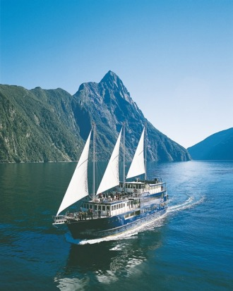 3. MILFORD MARINER CRUISE Sleeping on Milford Sound/Piopiotahi aboard a 700-tonne trading scow replica is so much more ...