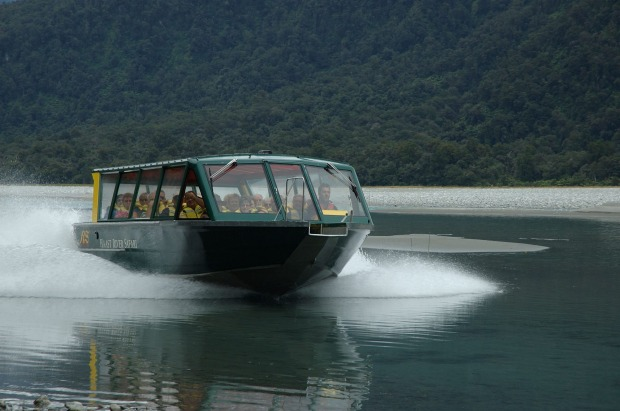 4. HAAST JET BOAT SAFARI Over one or two hours. this family-owned and operated company introduces you to the Haast River ...
