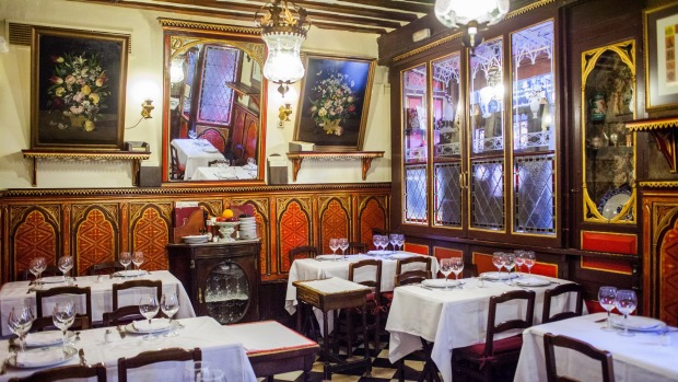 Madrid's Sobrino de Botin, est. 1725, the oldest continually operating restaurant in the world.