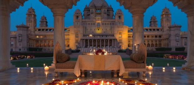 3. Umaid Bhawan Palace Jodhpur, India