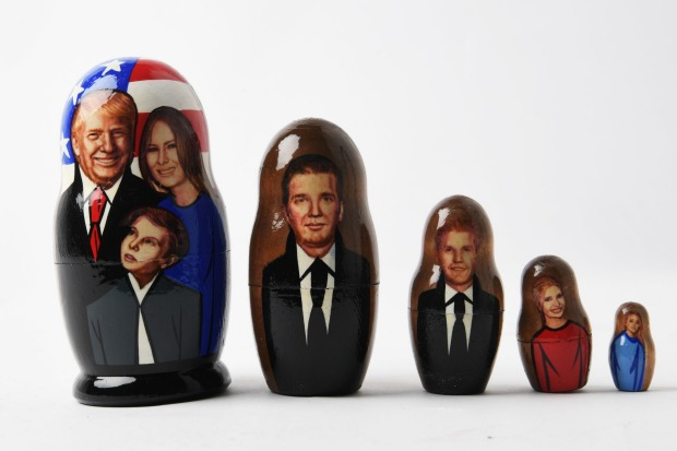 What's inside the Obama Russian doll.