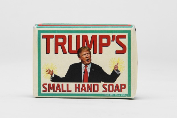 Small hand soap.
