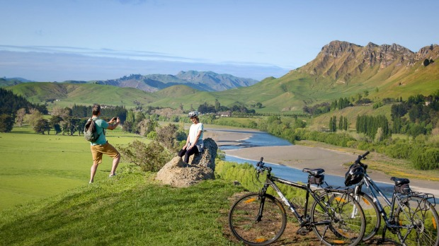 Te Mata Peak, Hawke's Bay: Cycling is the perfect way to explore the region.
