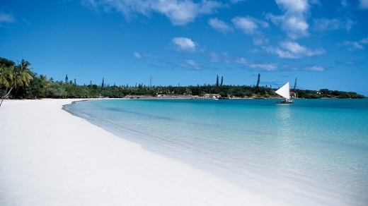 New Caledonia is the definition of tropical paradise.