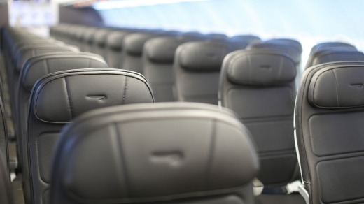 British Airways' current A320 seats. The airline will fit non-reclining seats to its fleet of 35 new Airbus A320neos and ...