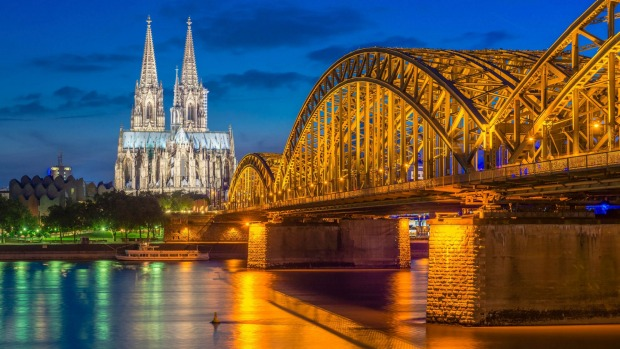 Cologne on the Rhine River with Tauck Cologne Cathedral.