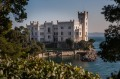Miramare castle was the home of Archduke Maximilian of Austria, who became Emperor of Mexico.