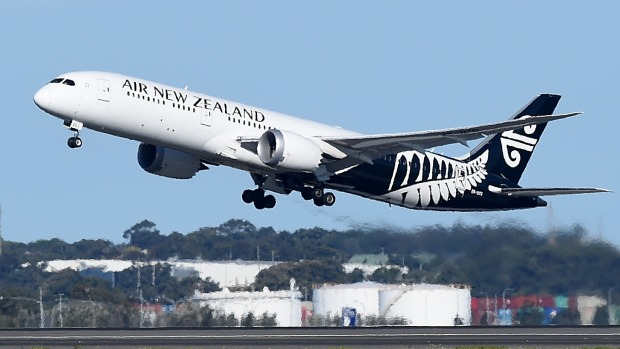 Andrew Fisher flew Air New Zealand from Shanghai to Auckland and Auckland to Buenos Aires.