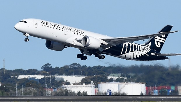 Air New Zealand is flying a Boeing 787-9 Dreamliner on its new Chicago route.