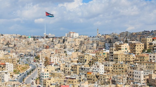 Jordan's distinctive capital, Amman.