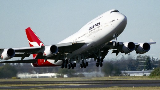 The Boeing 747 jumbo jet served Qantas for nearly 50 years.