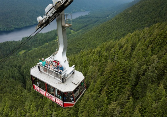 SKYRIDE SURF ADVENTURE: WHERE Grouse Mountain, Vancouver, Canada. HEIGHT The gondola ride is 1,610 metres long, the ...