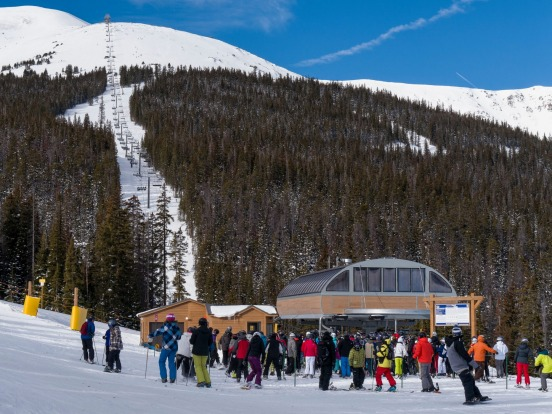 IMPERIAL EXPRESS SUPERCHAIR: WHERE Breckenridge, Colorado, US. HEIGHT The chairlift reaches 3914 metres, just shy of the ...