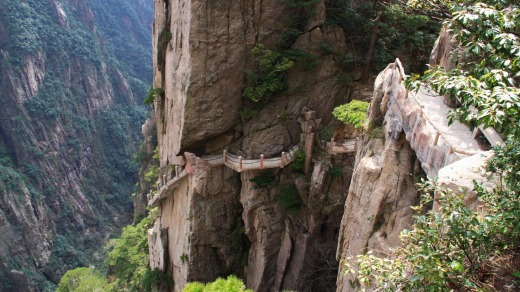 Tianmen Mountain National Forest Park, China.