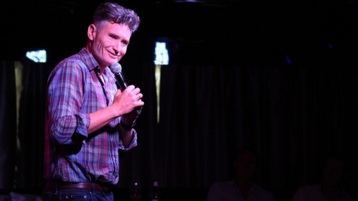 """The gigs are really good, you have a great audience, and you get to hang out in the sun,"" comedian Dave Hughes on ..."