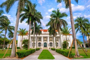 The Flagler Museum, Palm Beach, Florida.