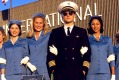 Pan Am's uniforms, as seen in this famous scene from Catch Me If You Can with Leonardo DiCaprio, changed the game for ...