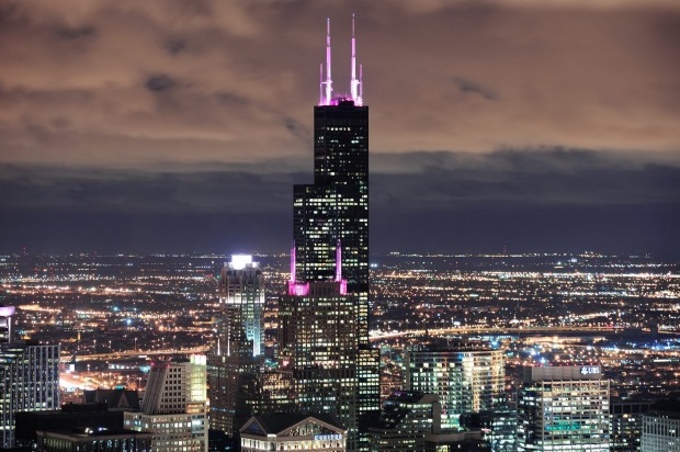 SEARS (WILLIS) TOWER True Chicagoans never refer to it by its new name, Willis Tower. To them, it always was and always ...