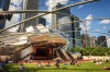 MILLENNIUM PARK If it's a sunny day, walk from the Art Institute to the adjacent Millennium Park and enjoy some ...