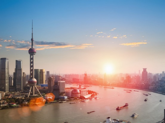 ORIENTAL PEARL TOWER, SHANGHAI: Thirty years ago, just a few farm buildings stood across the river from Shanghai's Bund. ...