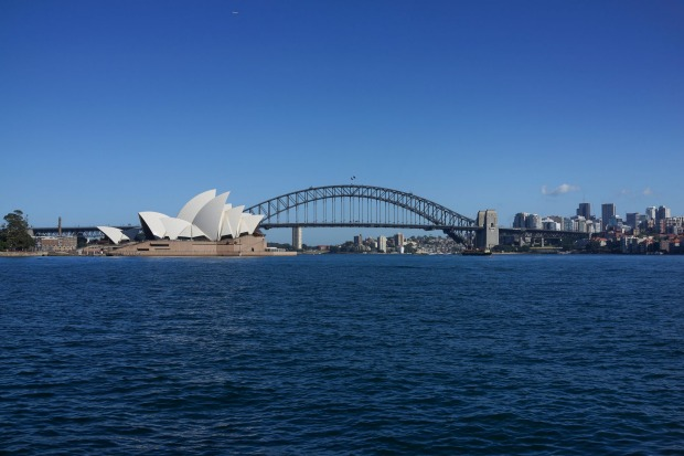 HARBOUR BRIDGE, SYDNEY: Take a breath test, have a safety briefing and don unflattering grey overalls and a safety ...
