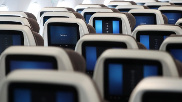 Your inflight entertainment system may be watching you back.