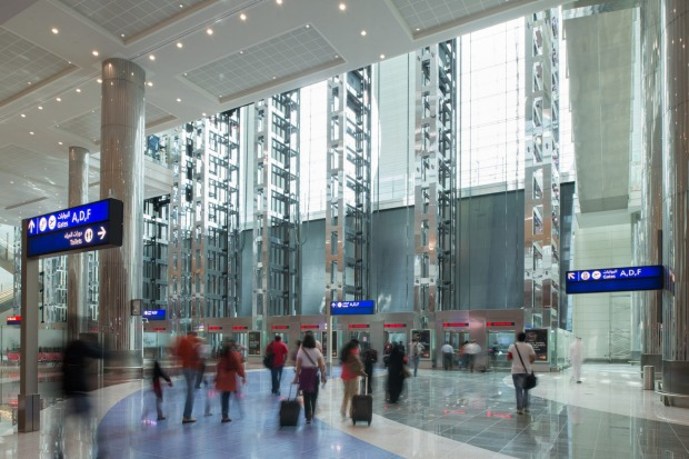 Dubai Airport overtook London Heathrow as the busiest for international travellers in 2014