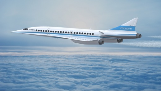 Supersonic Demonstrator Baby Boom.