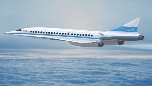 Boom Technology of Englewood, Colorado, plans to build a 55-seat supersonic airliner that would have a ticket prices on ...